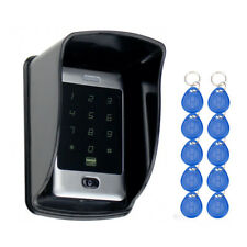 Keypad Access Control Metal Waterproof Rfid Door Lock Card Reader Password Touch