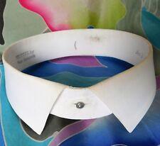 Vintage stiff shirt collar Valtona Van Heusen Starched size 16.5 no.1 detachable