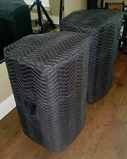 BEHRINGER B615D B415DSP B815 NEO Padded Black Covers (2) - Qty of 1 = 1 Pair!