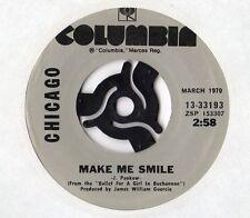 "Chicago-Make Me Smile/25 ou 6 To 4-SIMPLE 7"" 1970"