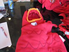 Pottery Barn Kids Halloween costume Red Fish 4 6 Cat in Hat New