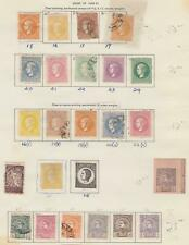SERBIA STRONG  OLD INTERESTING COLLECTION ON ALBUM PAGES T978