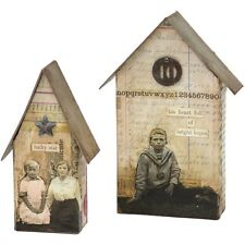 Sizzix Tim Holtz Alterations Collection Bigz L Die Tiny Houses 2017 661819