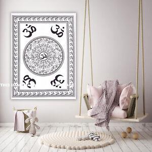 Cotton Wall Hanging Throw Bohemian Om Hippie Mandala Tapestry Wholesale Lot 5 PC