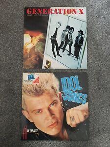 Billy Idol Vinyl x2 BILTCD1 & CHR1193 See Description For Details