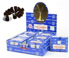 Incense Cones Satya Nag Champa Incense Dhoop Cones 12 Packs of 12 Cones