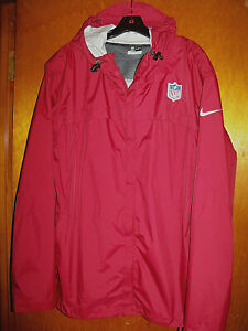 Nike Storm-Fit On-Field Football Officials Sideline Hooded Jacket XL Full Zip
