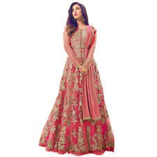 Bollywood Indian Heavy Bridal Anarkali Salwar Kameez Designer Dress Party Gown