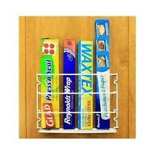 Kitchen Storage Pantry Cabinet Organizer Rack Wall Door Mount Roll Paper Holder