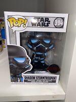 Funko Pop! Shadow Stormtrooper #394 Special Edition + Pop Protector
