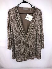 NWT Liz Claiborne Woman Top Size 2X Lined Sheer