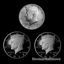2017 S+S+S Kennedy Half Dollar Silver, Clad, Enhanced Mint Proof Set
