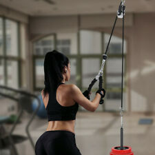 Fitness Pulley Cable Workout Equipment Machine System Lifting Tool Kit Gym rl