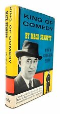 Mack Sennett - King of Comedy - SIGNED FIRST EDITION in Dustjacket, 1954