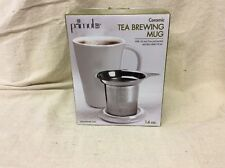 Primula Abbey Ceramic Tea Brewing Mug - Glazed Interior - Does Not Retain Flavor