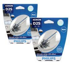 2x Philips xenón lámpara d2s whitevision gen2 85v 35w p32d-2