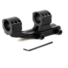 """Tactical Dual Rings Picatiiny Rail PEPR 1"""" Cantilever Flat Top Rifle Scope Mount"""