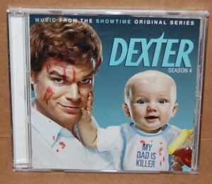 Dexter Showtime TV Show Season Series 4 Four CD Music From The Soundtrack Score