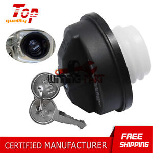 Thread Locking Gas Fuel Cap W/2 KEY 05278655AB For 2001-2016 Jeep Dodge