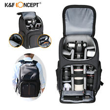 Large DSLR Camera Bag Backpack Laptop Case Waterproof for Canon Nikon KF Concept