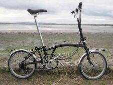 BROMPTON M6L FOLDING BIKE 6 SPEED MODEL M-TYPE,CITY BIKE,TOWNIE,FOLDABLE BICYCLE