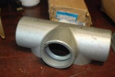 """Cooper Crouse-Hinds, T87, 3"""" Form 7 , Conduit Outlet Body, New in box"""