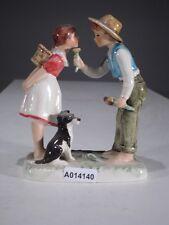 + * a014140 Goebel Archive motif N. rockwell figurines the gentleman rock 214, tmk4