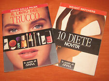 """Libri/Riviste/Attualita""""IL LIBRO DEL TRUCCO+10 DIETE""""Dalla Palma/Weight Watchers"""