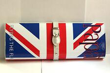 Magazine Clutch Paparazzi Union Jack British Flag Bag NEW