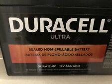 New Duracell 12 V 8 Ah Battery