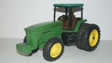 LARGE 1/12 Scale JOHN DEERE ERTL USA DIECAST FARM TRACTOR with DUAL WHEELS