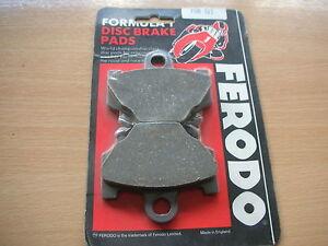 Ferodo Brake Pads FDB311  (FA018) Various Models New with Packaging