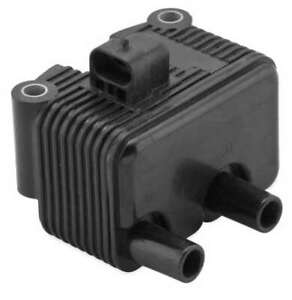 Twin Power Black 12V 1 Ohm Ignition Coil Harley Sportster 883 2004-2006