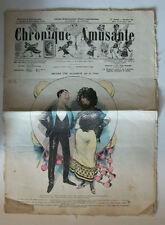 JOURNAL ILLUSTRE INTERNATIONAL « CHRONIQUE AMUSANTE » NOVEMBRE 1902