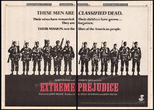 EXTREME PREJUDICE__Orig. 1983 Trade AD promo / poster__JOHN MILIUS__NICK NOLTE
