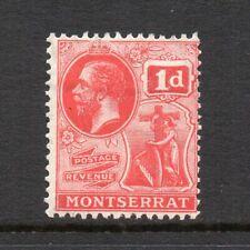 Montserrat - 1916-22, 1d Scarlet (sg50) Mint