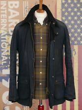 £289 Mens Barbour Sterling smart navy waxed jacket size S Small 34 36