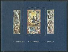 Malta - Flämische Wandteppiche Block 6 postfrisch 1980 Mi. 609