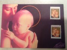 1991 29 Cent Christmas Stamp FDC First Day Cover 10/17/1991 TX Postmark Mary