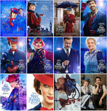 Mary Poppins Returns Movie 2018 Mirror Surface Postcard Promo Card Poster Card