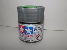 Tamiya Color Acrylic Paint Mini Flat Aluminium #XF-16 (10ml) NEW