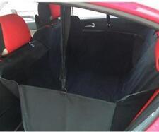 Plaids et protections bleus pour siège et coffre de transport des chiens