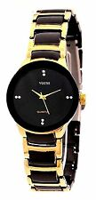 Womens Watches,Girls Watch,Ladies Watch  Analogue Round Black Dial Metal Strap