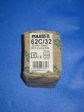 CRABTREE Polestar 62C/32 32A Double Pole MCB Breaker