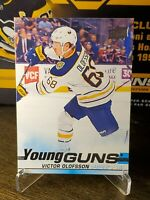 2019-20 Victor Olofsson UD Series 1 Hockey Young Guns SP RC Card #207 - Sabres