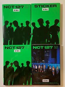 NCT 127 Sticker 3rd Album Sticky Ver. Seoul City Ver UNSEALED NO PHOTOCARD