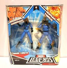 HASBRO MARVEL LEGENDS FANTASTIC FOUR 2 PACK INVISIBLE WOMAN AND THE HUMAN TORCH