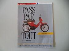 advertising Pubblicità 1990 HONDA PK 50 WALLAROO