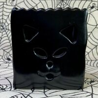 Midwest Of Cannon Falls RARE Halloween Black Cat Tea Light Candle Holder New