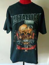 Vintage Metallica 2004 Met Club Black T Shirt Men's Size L Very Nice